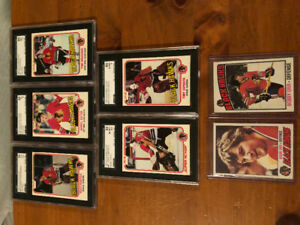 1970s 80s Opc blackhawks Graded Hockey Cards Bobby Orr featured