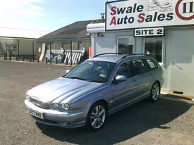 2007 JAGUAR X TYPE SE AUTOMATIC 2.5L V6, 4 WHEEL DRIVE, FULL SERVICE HISTORY