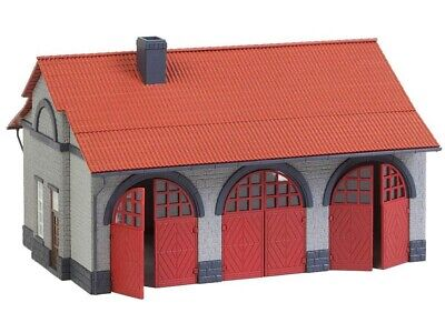 FALLER 130162 Feuerwehrgerätehaus Bausatz H0