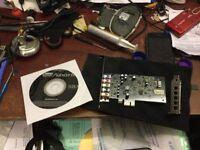 Creative Sound Blaster Audigy FX PC-i Express Sound Card