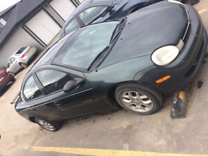 2001 Chrysler Neon, STILL RUNS, Needs work