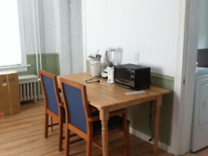 Two furnished bedrooms for students