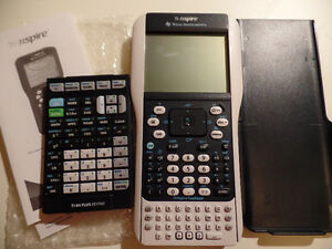 Texas Instrument TI Nspire + TI 84 removable keypad