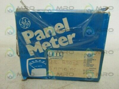 General Electric 250-2 Panel Meter New In Box