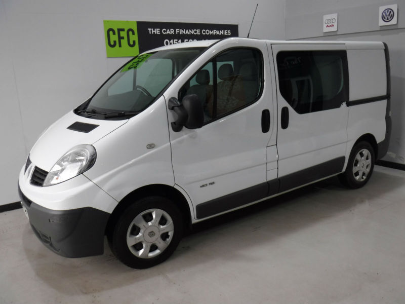 9bc6c5be0c Renault Trafic 2.0dCi Sat Nav Crew Van BUY FOR ONLY £199 A MONTH FINANCE