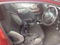 Citroen c2 gt interior front and rear sports seats