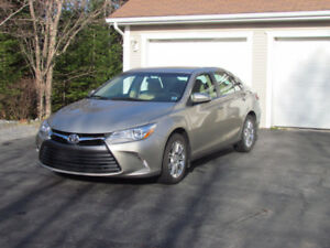 2015 Toyota Camry LE with upgrade package