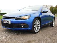 2011 61 VOLKSWAGEN SCIROCCO 2.0TDI 170 GT DIESEL COUPE**FSH**£8495**
