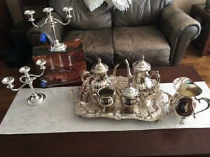 International Silver Co. Silver Plated Coffee, Tea Set and More