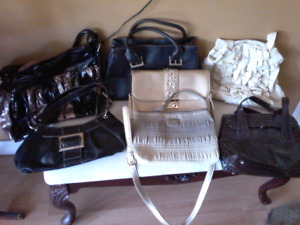 Various purses for sale