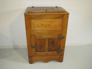 Old Wooden Icebox