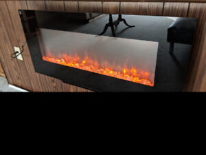 SimpliFire Electric Fireplace (free-standing or wall-mount)