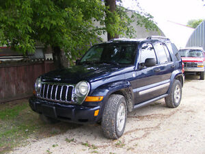 2007 Jeep Liberty sport SUV, Crossover