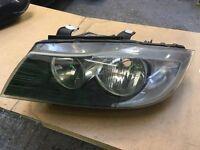 BMW e90 e91 e92 n/s passanger headlight