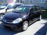 2010 NISSAN VERSA HATCHBACK ONE OWNER NISSAN LEASE RETURN!