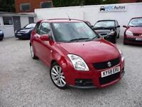 2008 (58) Suzuki Swift 1.6 VVT Sport, 3DR HATCHBACK, 12M MOT EW CD RCL AC