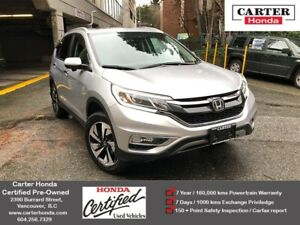 2016 Honda CR-V Touring + CERTIFIED + MANAGERS SPECIAL!