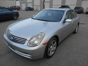2003 Infiniti G35 New Winter Tiers Only 152000 KMS
