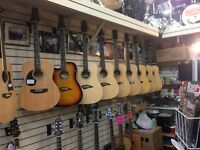 Largest Selection of Left Handed Acoustics in Town & ON SALE