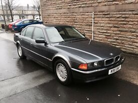 1996 BMW 735i Automatic Top Of The Range Phone System Full Leather Automatic Full 12 Months MOT