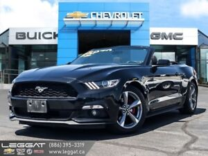 2015 Ford Mustang V6 Convertible  | LED | SYNC | B.Cam!