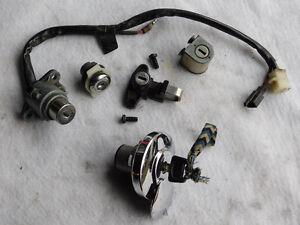 1987-93 VT 1100c serrures, clé, bouchons, fuel cap, ignition sw
