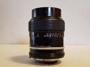 Nikon Nikkor 105mm. F 1:2.5 Prime Lens