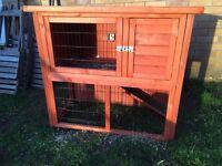 Rabbit/Guinea Pig Hutch - 2 Level