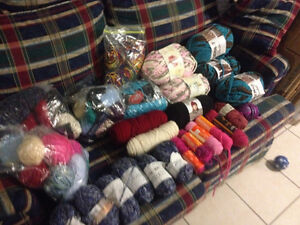Large variety of wool