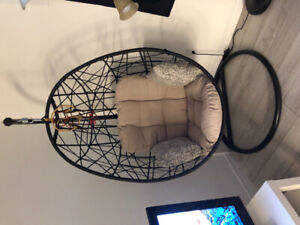 Hanging Egg Chair with Stand