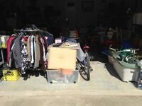 Multi family country garage sale in Clandeboye MB