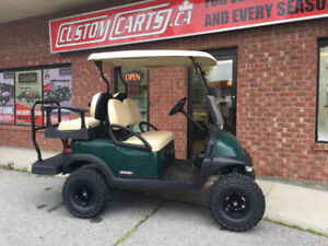 2013 Club Car Precedent Lifted 4 passenger Electric