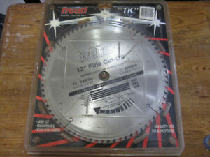 FREUD 12 INCH NEW SAW BLADE WITH 72T FINE CUT-OFF
