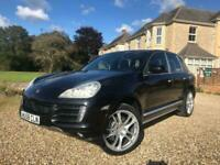 2009 Porsche Cayenne LEFT HAND DRIVE 4.8 S AUTO, PANORAMIC ROOF, BROWN LEATHER,
