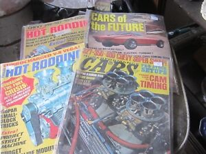 BUNCH OF OLD CAR MAGAZINES $2 EA. HOT ROD RODDING