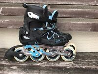 Decathlon inline skaters in very good used condition size 5