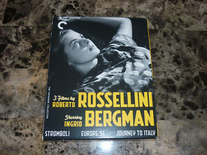 3 FILMS BY ROBERTO ROSSELLINI - BLU-RAY CRITERION