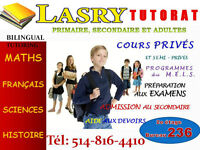 MATH AND FRENCH EDUCATION CENTER IN D..D.O. TUTORING AT 120$/M West Island Greater Montréal Preview