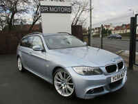 2009 BMW 320 2.0TD M Sport Touring(HEATED LEATHER SEATS,HISTORY)
