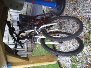 2 mountain bikes for sale as is