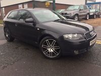 "AUDI A3 2.0 TDI SPORT""""54 PLATE """" 18 INCH"""" ALLOYS ELECTRIC WINDOWS ELECTRIC MIRRORS"