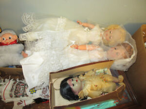 Dolls Canadian Heritage Themed: R.C.M.P., Acadian, First Nations