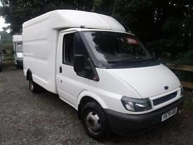 2001 Ford Transit Chassis Cab TD 75ps DRW 3 door Luton Van