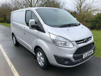 2017 67 NEW FORD TRANSIT CUSTOM LIMITED 2.0TDCI 130BHP 290 L1H1 ANY UK DELIVERY