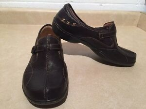 Women's Naturalizer N5 Comfort Leather Slip-On Shoes Size 11 London Ontario image 3