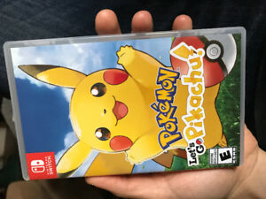 Pokémon Let's Go Pikachu for Nintendo Switch! -Mint condition