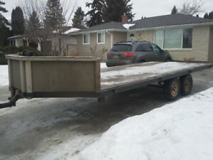 TRAILTECH 4 PLACE SLED TRAILER