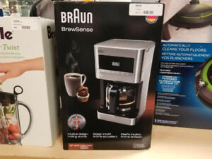 Braun BrewSense Coffee Maker (Brand New)