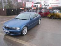 2001 BMW 3 SERIES 2.5 325CI SE 2 DOOR AUTO