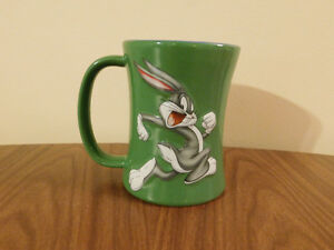 Collectible Warner Bros Bugs Bunny Looney Tunes Coffee Mug